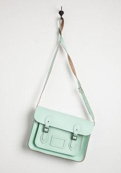 Cambridge Satchel Company Bag in Mint - 13 inch
