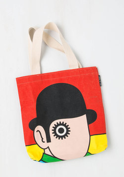 Bookshelf Bandit Tote in Alex