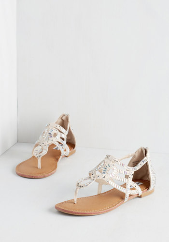 All That Glitters is Bold Sandal in Sand