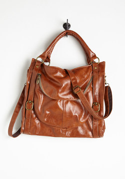 Searching for Sea Glass Bag in Brown