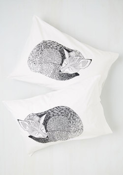 Sly Rest My Case Pillow Sham Set
