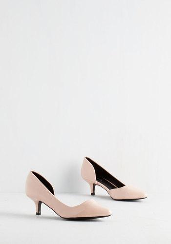 Exude Elegance Heel in Petal