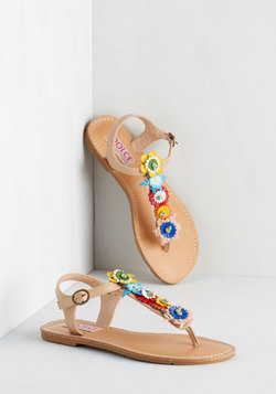 Hop on Pop Art Sandal
