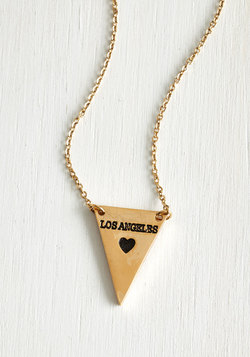 No Ordinary Coordinates Necklace in Los Angeles