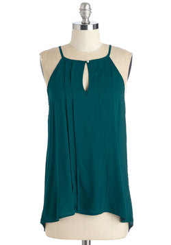 Style a Minute Top in Teal