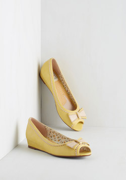 Spring Zing Wedge in Citrine