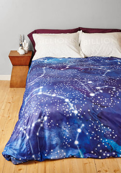 Starry Slumber Duvet Cover in Full/Queen