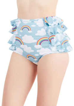 Eyes on the Skies Swimsuit Bottom
