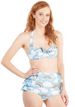 Eyes on the Skies Swimsuit Top