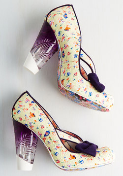 Irregular Choice Business is Blooming Heel