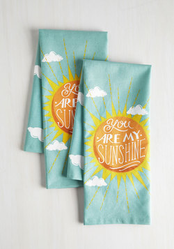 Sunbeam and Sugar Tea Towel Set