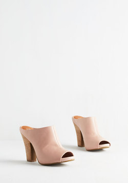 Propaganda Bootie in Soft Pink