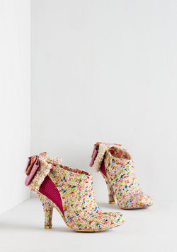 Irregular Choice Peek-a-Boucle Bootie