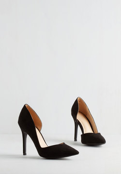 Chic My Language Heel in Black