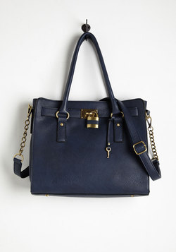 Full Course Load Bag in Navy - 14 inch