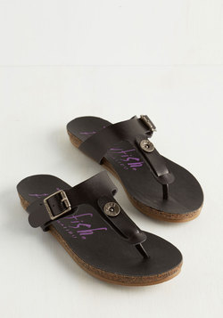 Now This is Living Sandal in Midnight Black