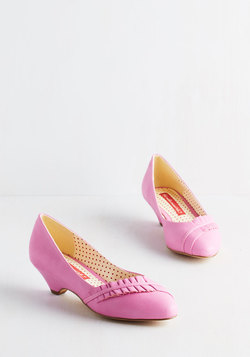 Love at First Excite Heel in Bubblegum