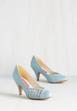 Style Down the Aisle Heel in Sky