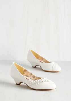 Love at First Excite Heel in White