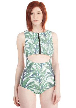 Fern Up the Heat One-Piece Swimsuit