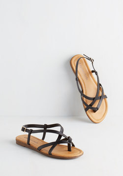 Skip Hop Hooray Sandal in Black