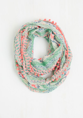 Stimulate Your Style Circle Scarf