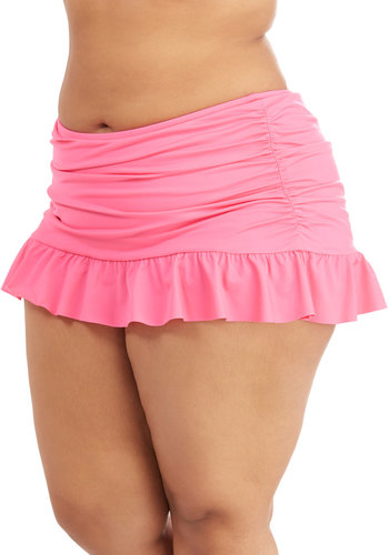 For the Sun of It Skirted Swimsuit Bottom in Plus Size