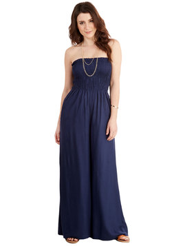 It's a Beautiful Bay Jumpsuit in Navy