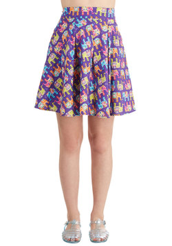 Travel Brightly Skirt