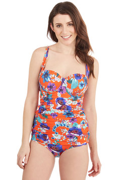 Swim There, Fun That Swimsuit Top in DD-Cup