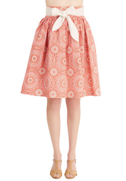 In Like a Medallion Skirt