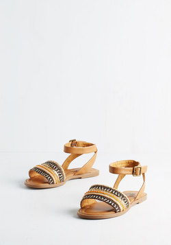 This Yay Up Sandal in Light Brown