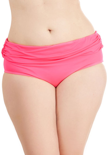 For the Sun of It Swimsuit Bottom in Plus Size