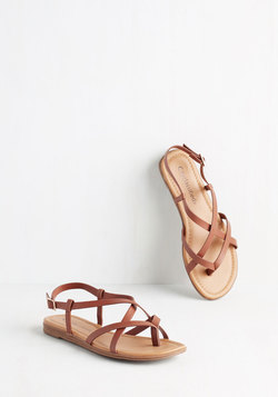 Skip Hop Hooray Sandal in Cognac