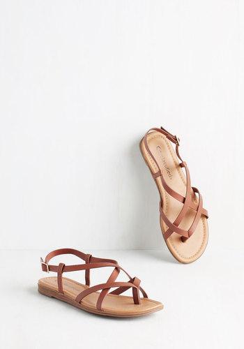 Skip Hop Hooray Sandal in Cognac