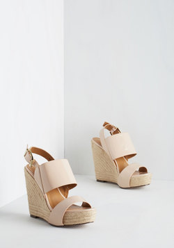 Know the Espadrille Wedge