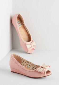 Spring Zing Wedge in Bubblegum