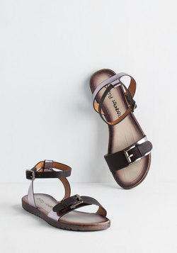 Luminosity of Lights Sandal in Pewter