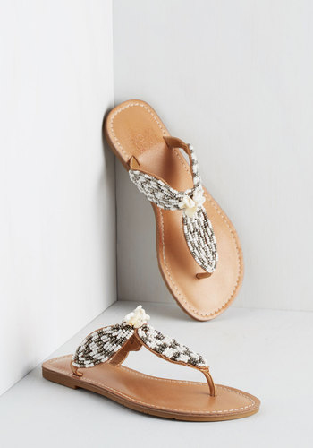 From Sea to Shining Seashell Sandal