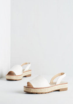 Daytime to Go Sandal in White