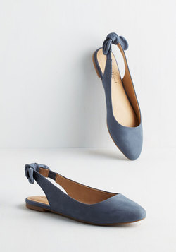 Lucky Brand Your Most Favorite Flat in Slate Blue