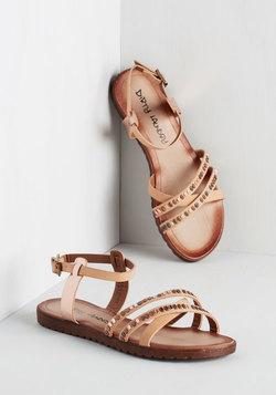 Shimmering Saunter Sandal
