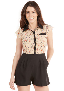 Standing Bloom Only Romper
