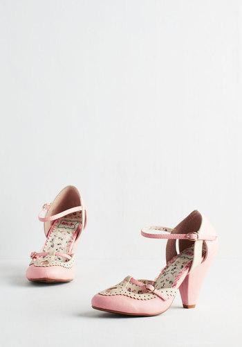 Triple Your Fancy Heel in Bubblegum