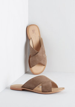 Way of the Wharf Sandal in Taupe