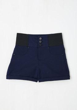 Rockin' in Memphis Shorts in Navy