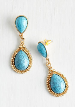 True Blue Colors Earrings