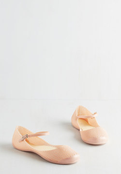 Rivulet it Roll Flat in Peach