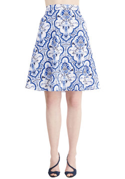 Delft! I Need Somebody Skirt