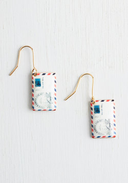 Postage Do Earrings